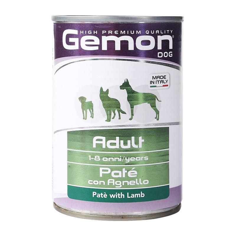 意大利原装进口Gemon 极萌湿粮系列 羊肉味狗罐头 400g